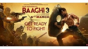 Baaghi 3 Casting screenplay direction poster