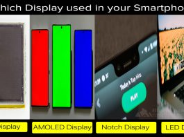 which display used in your smartphone