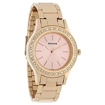 sonata ladies watch